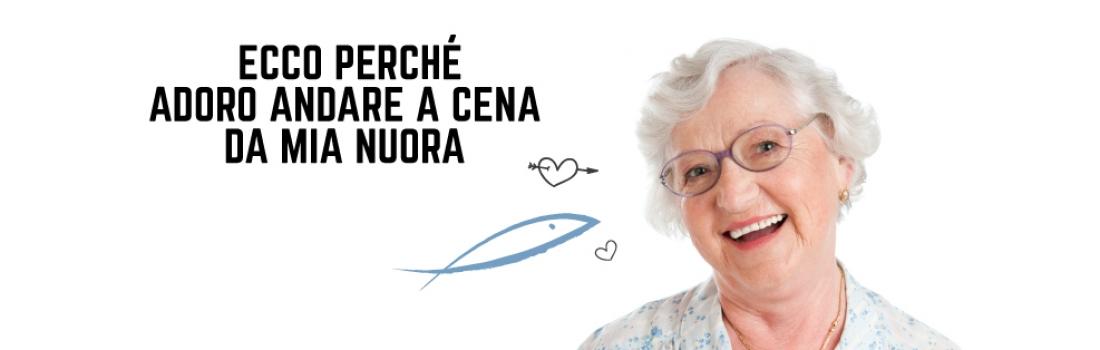 ECCO PERCHÈ ADORO ANDARE A CENA DA MIA NUORA!